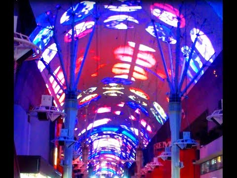 Fremont St Downtown Vegas Light Show Live Bands Street Performers FULL GUIDE