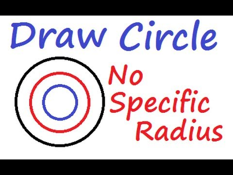 Logo - Learn to Draw a Circle using MSW Logo