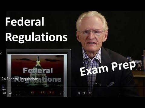 24 Federal Regulations: Arizona Real Estate License Exam Prep