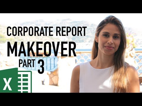 BMW Corporate Report Makeover: Better Excel Tables in Reports (Part 3)