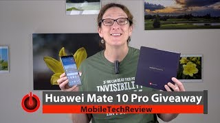Huawei Mate 10 Pro Giveaway (ended)