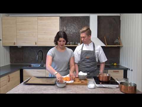 Slik lager du Søtpotetchips/ Homemade sweet potato chips