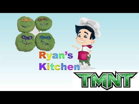 Ninja Turtles Sugar Cookies and car toys review (Easy for kids)