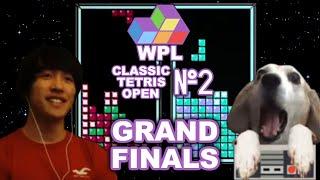 WPL Classic Tetris Open #2 FINALS - JD Vs. Dog - CTWC Champion Match-up!