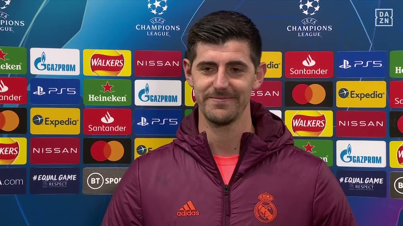 Thibaut Courtois Reacts To Real Madrid's UCL Defeat To Chelsea