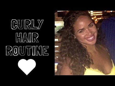 Curly Hair Routine! | 3A, 3B HAIR