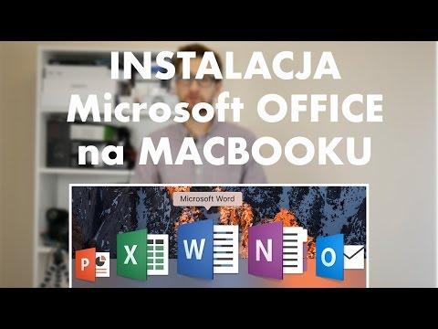 Jak zainstalować Microsoft OFFICE na MACBOOKA (Word, Exel, PowerPoint- instrukcja instalacji)