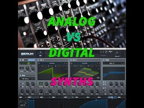 Analog VS Digital synth: SOUND DIFFERENCES (MOTHER32, SERUM VST, ELEMENT VST)
