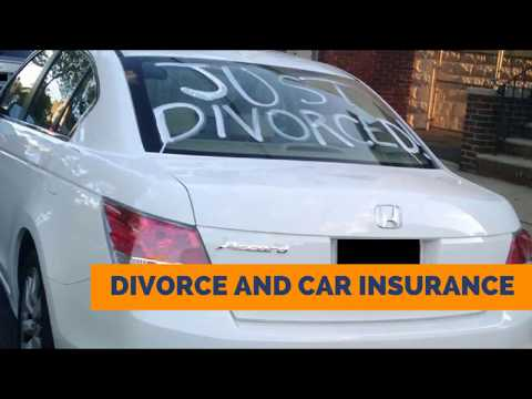 Divorce and Car Insurance in Wisconsin