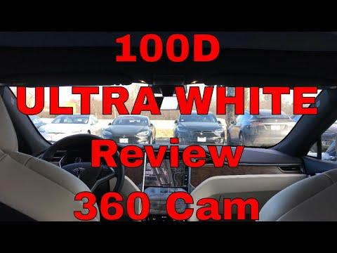 NEW Tesla 100D Review Ultra White Interior 360 Cam