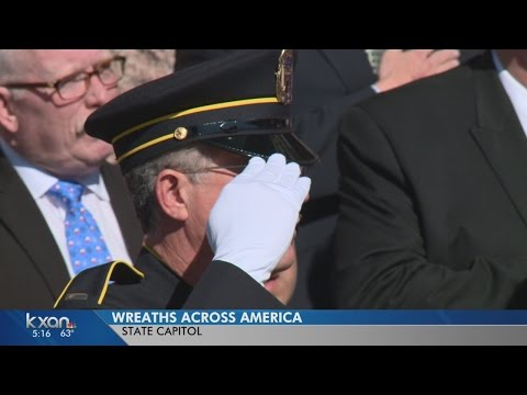 Wreath laying at Texas Capitol honors fallen military members