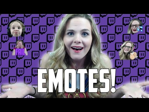 HOW TO GET EMOTES ON YOUR TWITCH CHANNEL [without being partnered]