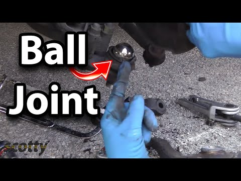 How to Replace a Ball Joint on Your Car