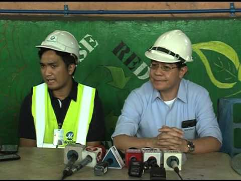 Busted Maynilad pipe gushing 3,000 cubic meters of water/hr