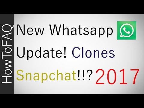 WhatsApp Clones Snapchat Stories Like Instagram UPDATE 2017