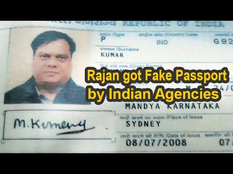 Given fake passport by Indian agencies  Chhota Rajan : NewspointTV