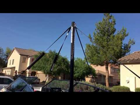 Walk-around of our Insanity Pylon on our water ski boat