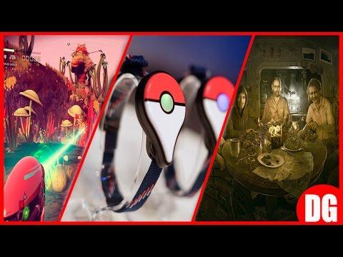 pokemon go plus,resident evil 7 demo actulizado, no man's sky, pokemon go : domiguito de noticias