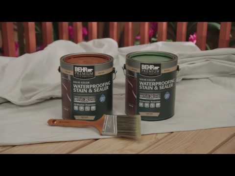 BEHR Stain & Finish Project How To's: Fences