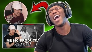 Reacting to KSI Reacting to My CAP Reaction