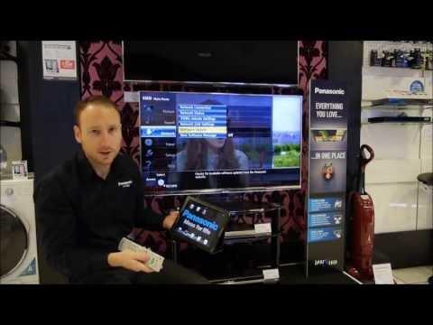 Network setup of a Panasonic Viera 2013 TV (part 1)