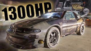 1300+hp AWD DSM Takes on Outlaw Armageddon!