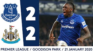 MOISE KEAN'S FIRST PREMIER LEAGUE GOAL | EVERTON 2-2 NEWCASTLE: MATCH HIGHLIGHTS