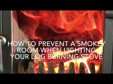 How to Stop Smokey Rooms When Lighting Your Log Burning Stove (Revised Film Resolution)