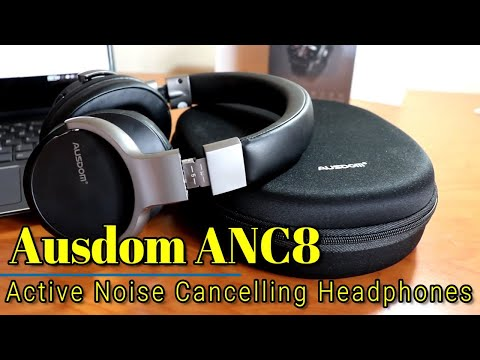 Ausdom ANC8 - Active Noise Cancelling Bluetooth Headphones for only $60!