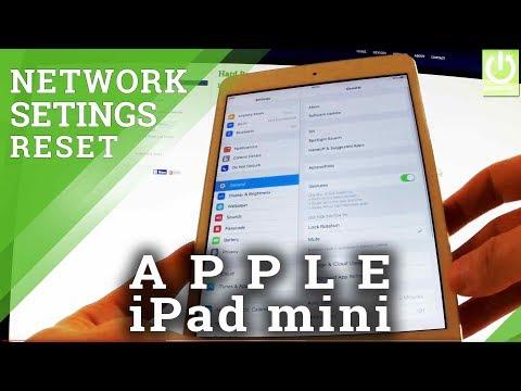 Reset Network Settings APPLE iPad mini - Fix Wi-Fi Network