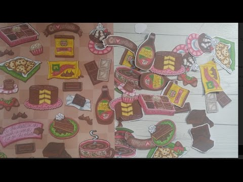 Make stickers or die cuts from sticker sheets with Brother Scan N Cut