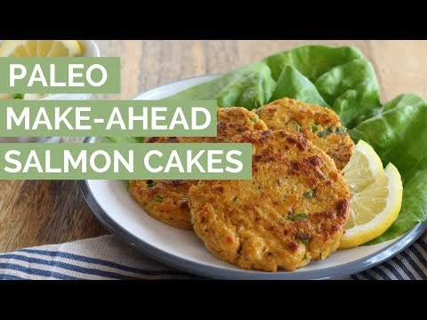 Make-Ahead Paleo Salmon Cakes Recipe