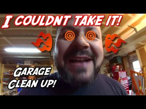 Garage Clean Up   240sx Budget Build Ep 4