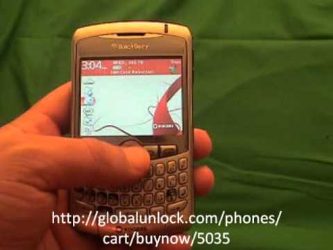 How To Unlock Aircel India Blackberry 8310 Curve By Code