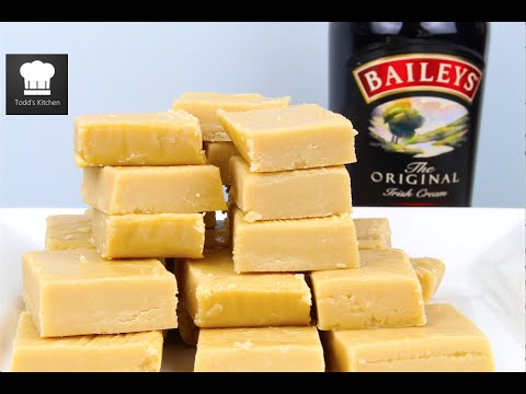 Baileys White Chocolate Fudge