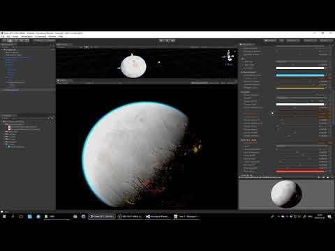 Tutorial 4 - Blueprints Overview - Procedural Planets (Unity Asset)
