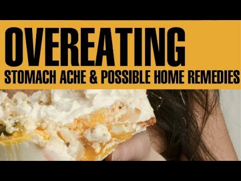Ate too much food? Natural Home Remedies to Help with Discomfort After Overeating or Binge Eating