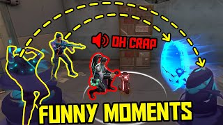 FUNNIEST MOMENTS IN VALORANT #55...