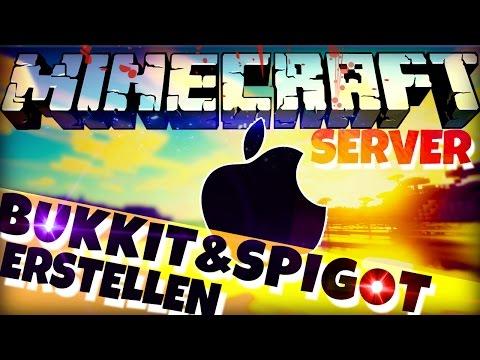 BUKKIT / SPIGOT SERVER Erstellen auf MAC | Minecraft 1.11 Tutorial | Craftbukkit Installation