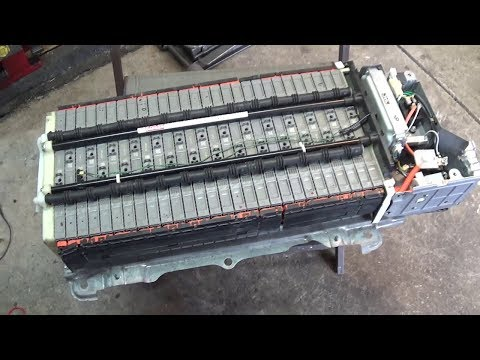 Rebuilding The Prius Battery Pack - Brief Overview