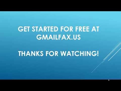 Gmail Fax - Learn How to Fax From Gmail