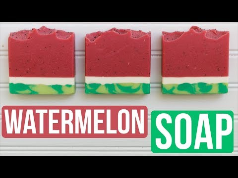 Watermelon Candy Soap 🍉| Royalty Soaps