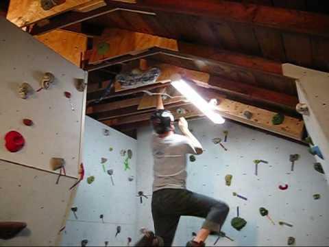 Building a Rock Climbing Wall in the Garage - Part 2 - Wall Junkies