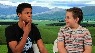 Trevor Jackson and Jackson Brundage Teach You How To Dougie