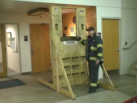 Firefighter Portable Training Wall Prop