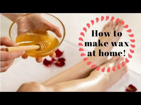 DIY CHEAP and EASY Hair Removal wax   Natural HoneyWax   Sugaring   Indian style Hair removal wax