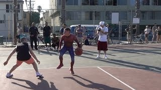 Spider man Basketball Loses 1v1 Peter Parker Avenges