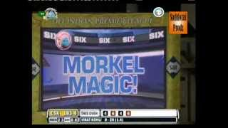 Virat Kohli gives 28 runs in the 19th over after Albie Morkel demolishes him