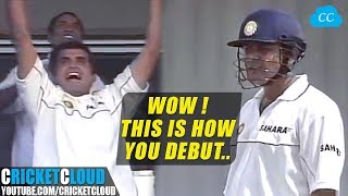 Sehwag Showing how to Play Debut Test Match | Fearless Cricketer !!