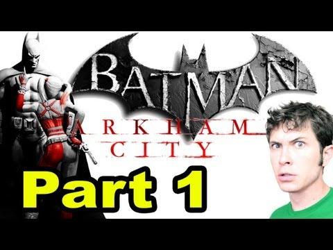 Let's Play Batman: Arkham City - I'M BATMAN - Part 1